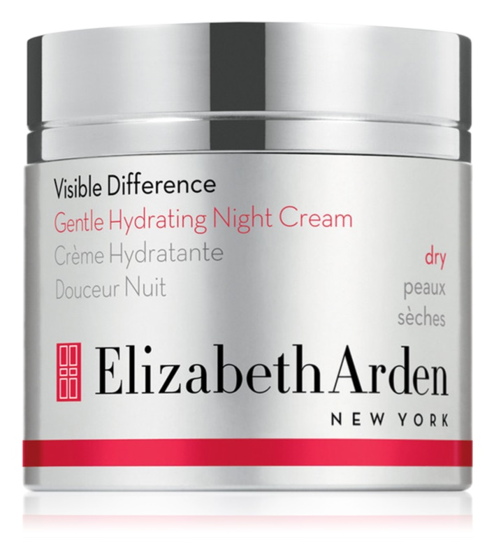 Elizabeth Arden Visible Difference Gentle Hydrating Night Cream Nachtverzorging - Hydraterende Crème  voor Droge Huid