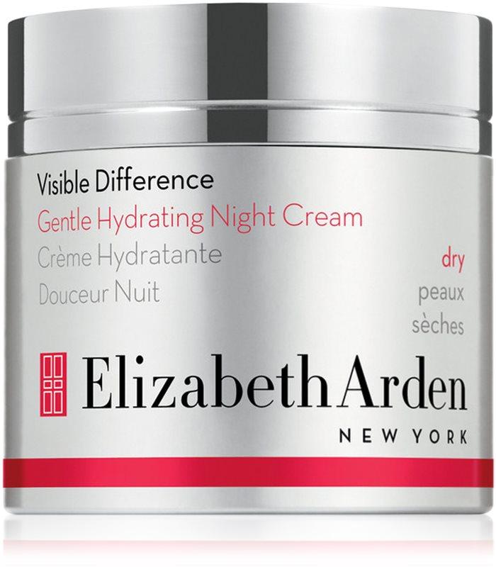 Elizabeth Arden Visible Difference Gentle Hydrating Night Cream nočný hydratačný krém pre suchú pleť