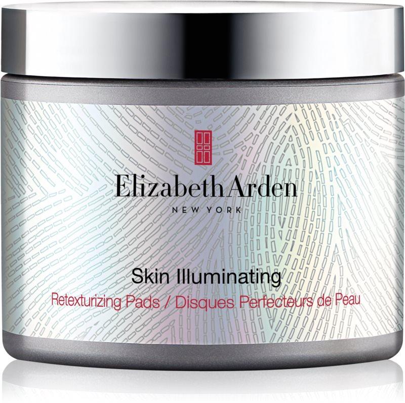Elizabeth Arden Skin Illuminating Retexturizing Pads patchs exfoliants pour restaurer la surface de la peau