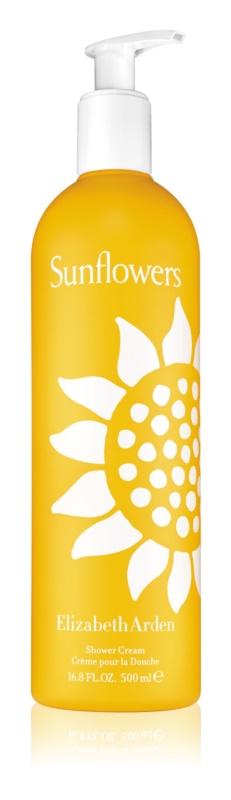 Elizabeth Arden Sunflowers Shower Cream crema de ducha para mujer 500 ml