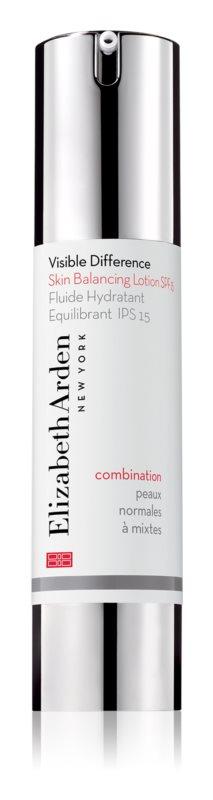 Elizabeth Arden Visible Difference Skin Balancing Lotion fluid hidratant SPF 15