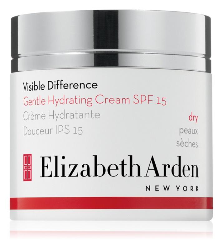 Elizabeth Arden Visible Difference Gentle Hydrating Cream denní hydratační krém SPF 15