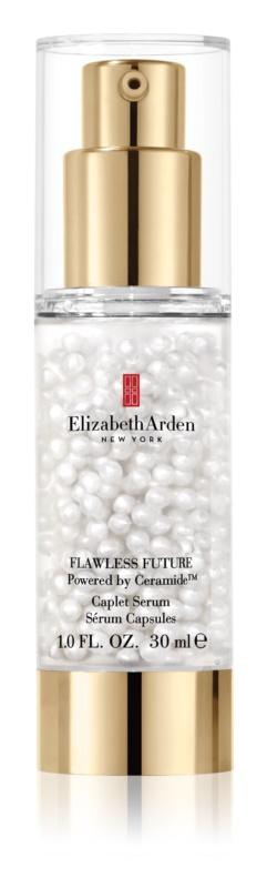 Elizabeth Arden Flawless Future Caplet Serum ser cu ceramide, cu efect de hidratare și iluminare