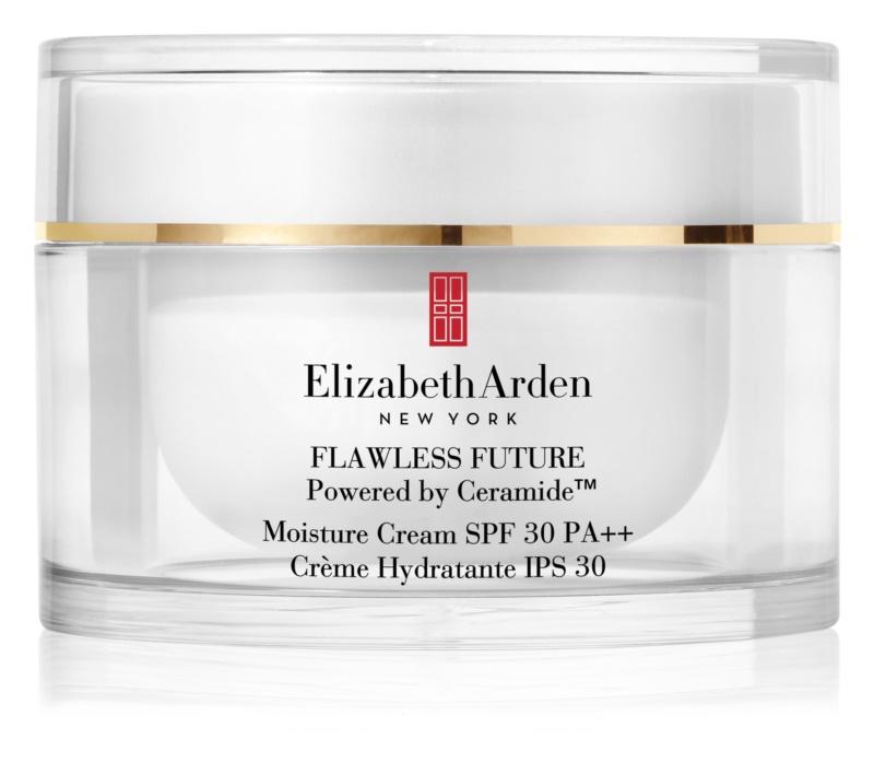 Elizabeth Arden Flawless Future Moisture Cream hydratačný krém s ceramidmi SPF 30