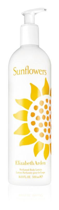Elizabeth Arden Sunflowers Perfumed Body Lotion Körperlotion für Damen 500 ml
