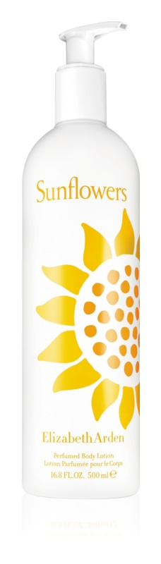 Elizabeth Arden Sunflowers Perfumed Body Lotion leite corporal para mulheres 500 ml