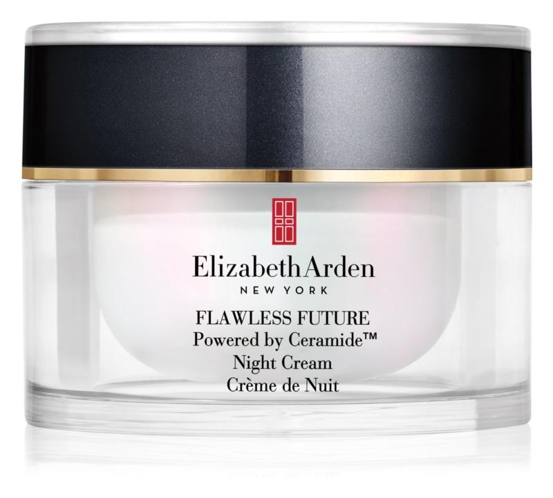 Elizabeth Arden Flawless Future Night Cream crème de nuit hydratante aux céramides