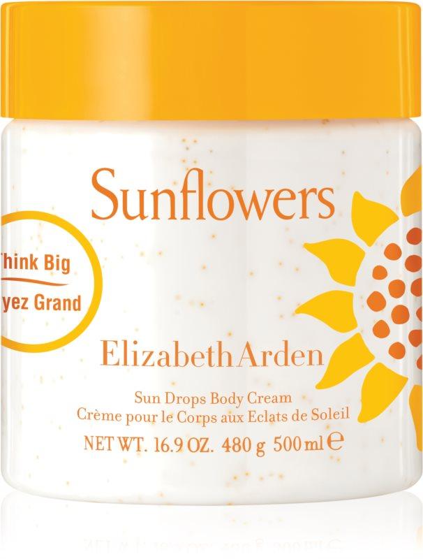 Elizabeth Arden Sunflowers Sun Drops Body Cream crema de corp pentru femei 500 ml