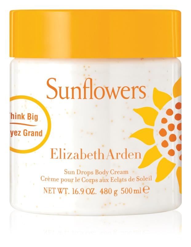 Elizabeth Arden Sunflowers Sun Drops Body Cream telový krém pre ženy 500 ml
