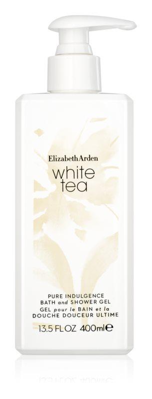 Elizabeth Arden White Tea Pure Indulgence Bath and Shower Gel Duschgel für Damen 400 ml