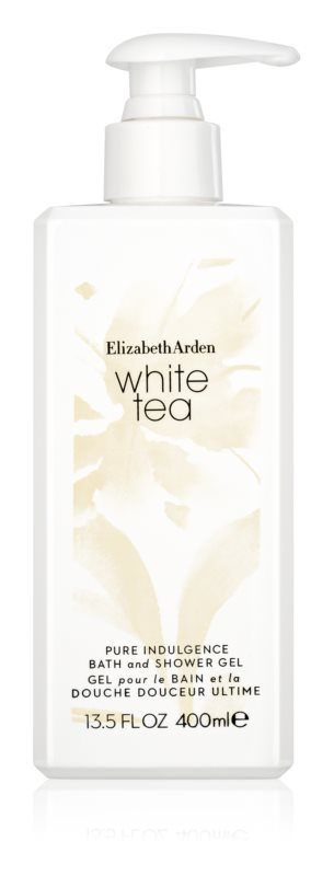 Elizabeth Arden White Tea Pure Indulgence Bath and Shower Gel gel de dus pentru femei 400 ml