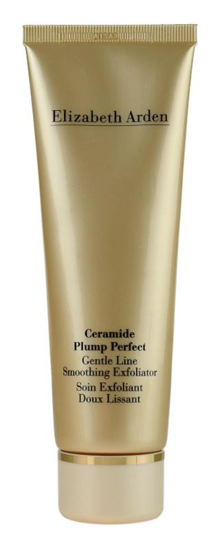 Elizabeth Arden Ceramide Plump Perfect Gentle Line Smoothing Exfoliator krémový peeling na obličej