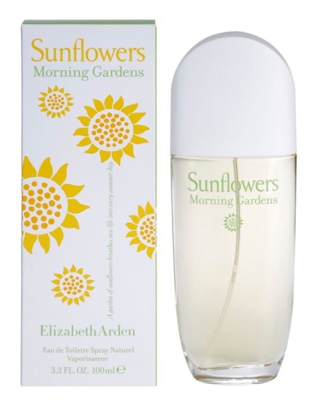 Elizabeth Arden Sunflowers Morning Garden eau de toilette nőknek 100 ml