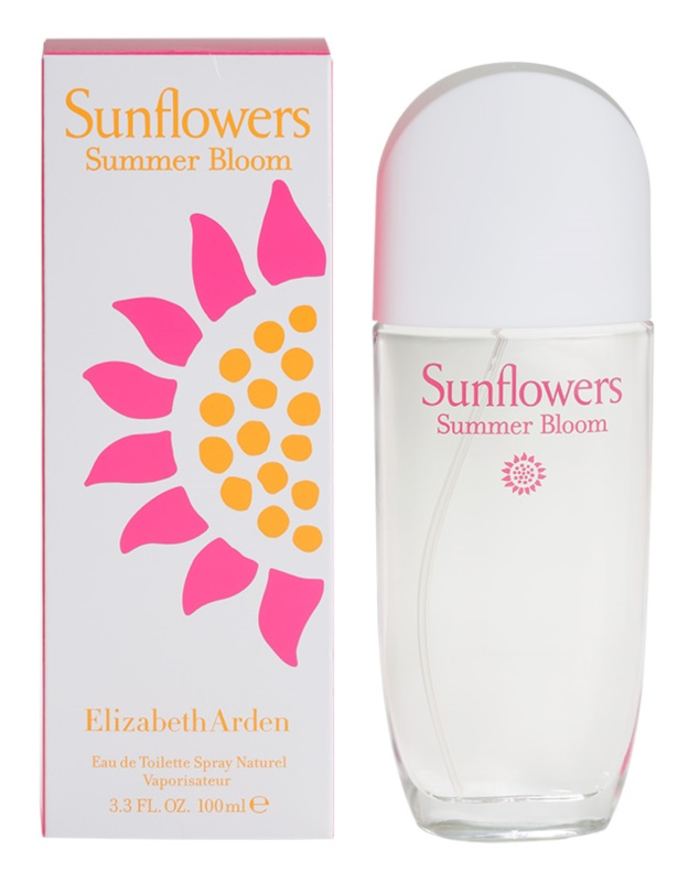 Elizabeth Arden Sunflowers Summer Bloom Eau de Toilette Damen 100 ml