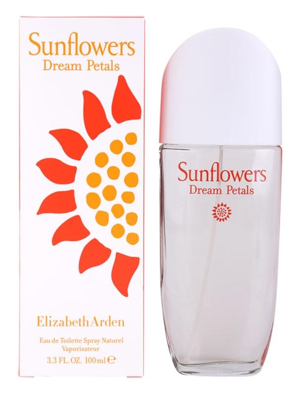 Elizabeth Arden Sunflowers Dream Petals eau de toilette nőknek 100 ml