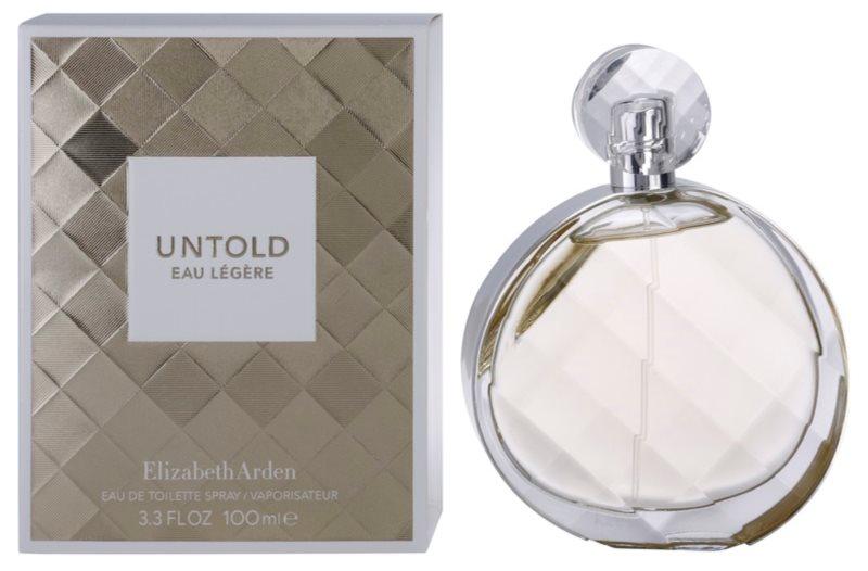 Elizabeth Arden Untold Eau Legere Eau de Toilette for Women 100 ml