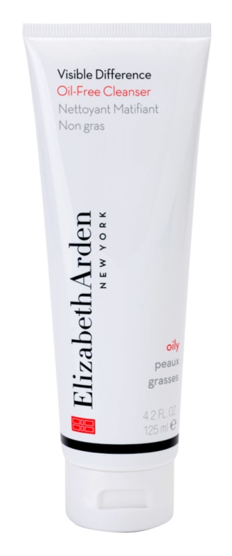Elizabeth Arden Visible Difference Oil-Free Cleanser schäumende Reinigungscreme für fettige Haut