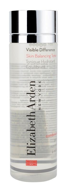 Elizabeth Arden Visible Difference Skin Balancing Toner lotiune hidratanta pentru piele normala si mixta