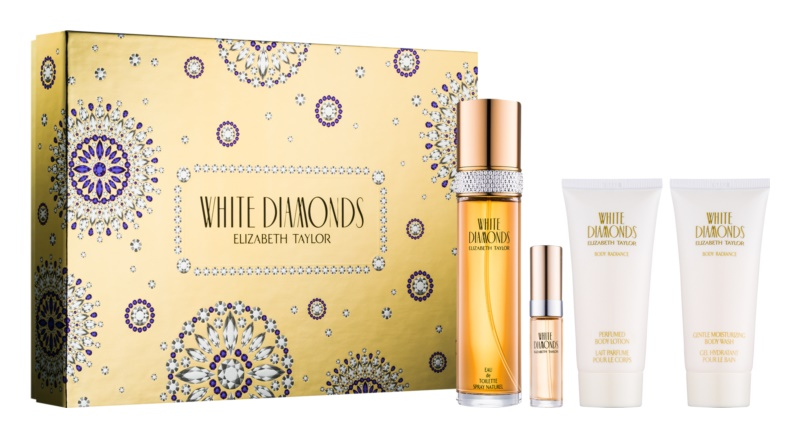 Elizabeth Taylor White Diamonds darilni set II.