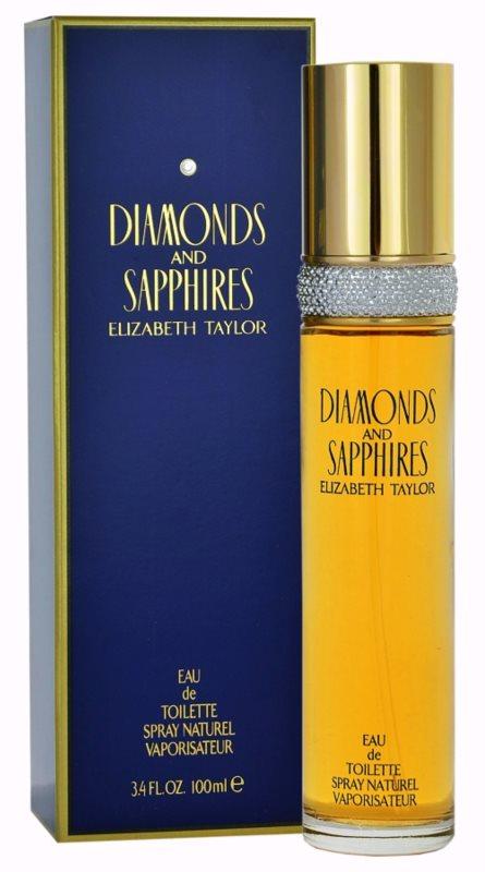Elizabeth Taylor Diamonds and Saphire Eau de Toilette für Damen 100 ml