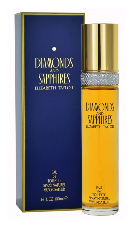 Elizabeth Taylor Diamonds and Saphire Eau de Toilette Für Damen 100 ml
