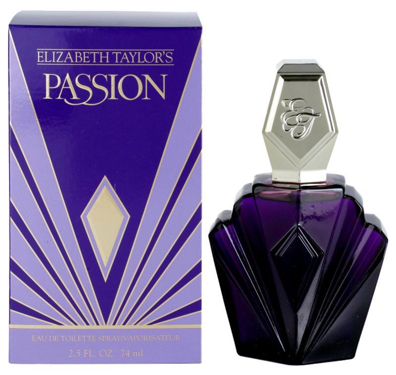 Elizabeth Taylor Passion Eau de Toilette for Women 74 ml