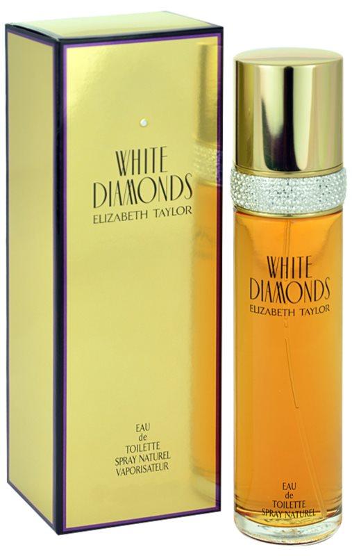 Elizabeth Taylor White Diamonds Eau de Toilette voor Vrouwen  100 ml