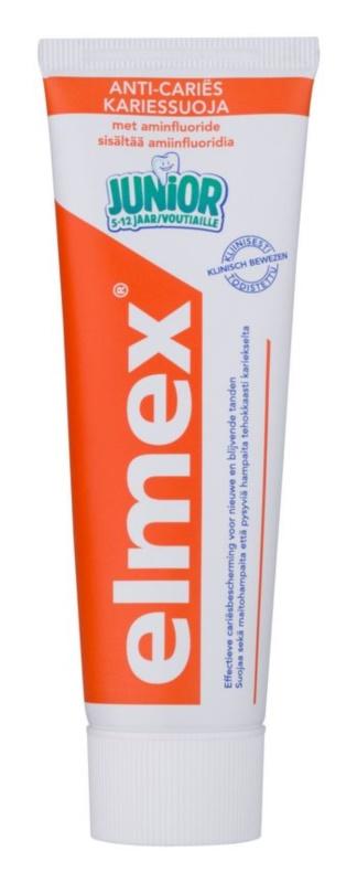Elmex Junior 5-12 Years zobna pasta za otroke