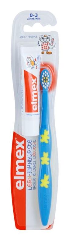 Elmex Caries Protection četkica za zube za djecu soft  + mini pasta