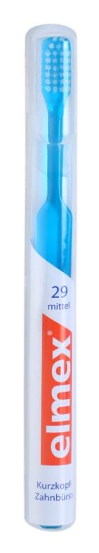 Elmex Caries Protection Zahnbürste mit geraden Fasern und kurzem Kopf Medium