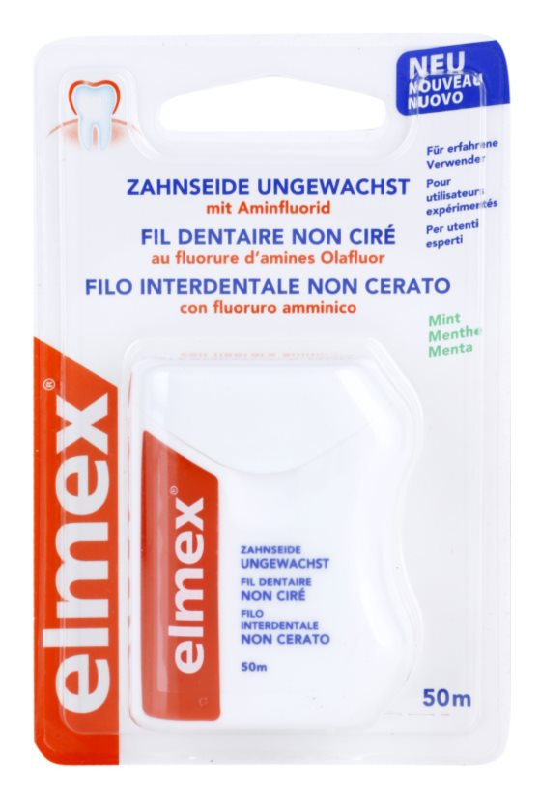 Elmex Caries Protection fio dental sem cera