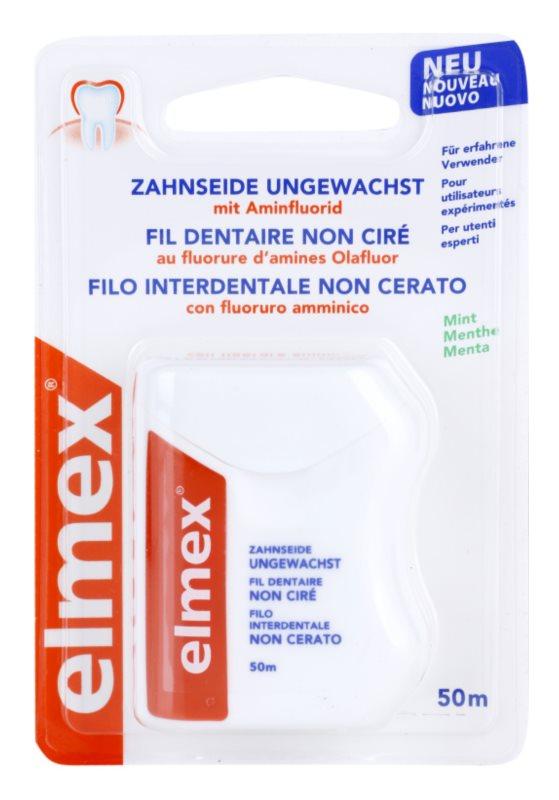 Elmex Caries Protection hilo dental sin cera