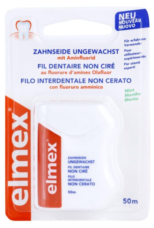 Elmex Caries Protection niewoskowana nić dentystyczna