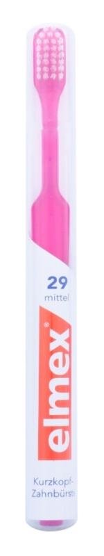 Elmex Caries Protection cepillo de dientes de corte recto con cabezal corto medio