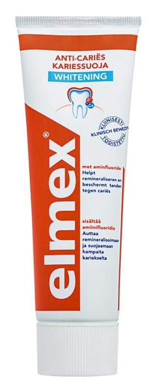 Elmex Caries Protection pasta de dientes con efecto blanqueador anticaries