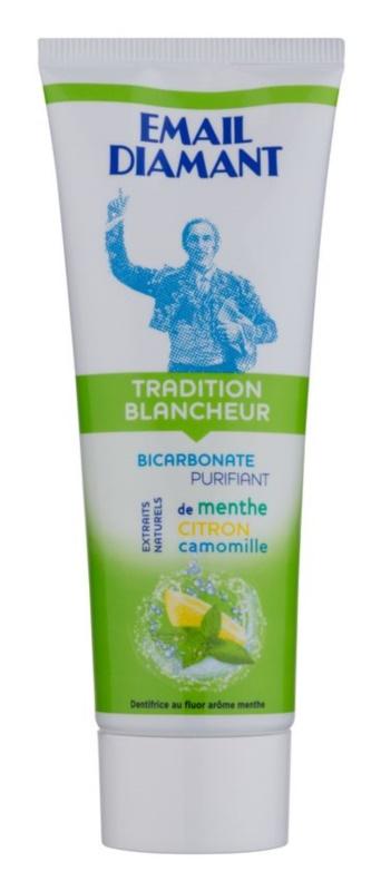 Email Diamant Tradition Blancheur pasta de dientes blanqueadora con extractos naturales