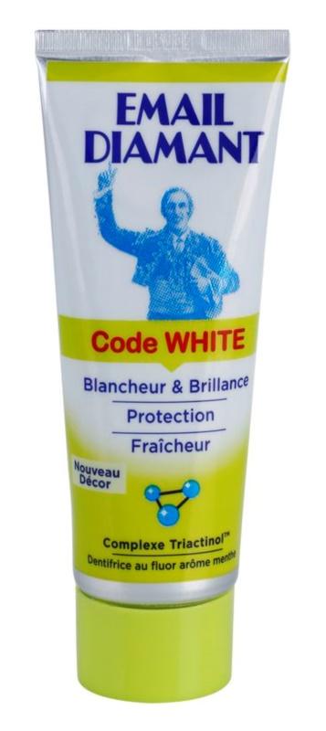Email Diamant Code White pasta de dientes blanqueadora