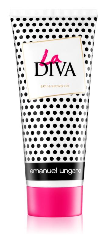 Emanuel Ungaro La Diva gel doccia per donna 200 ml