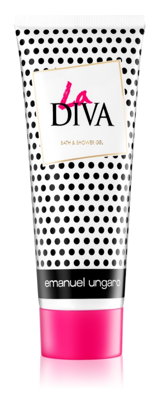 Emanuel Ungaro La Diva Shower Gel for Women 200 ml