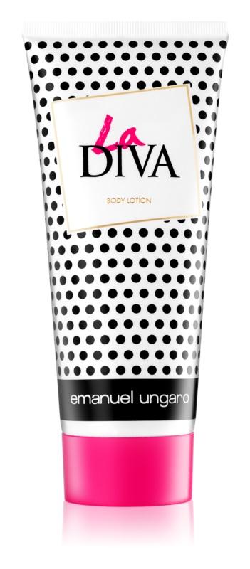 Emanuel Ungaro La Diva tělové mléko pro ženy 200 ml