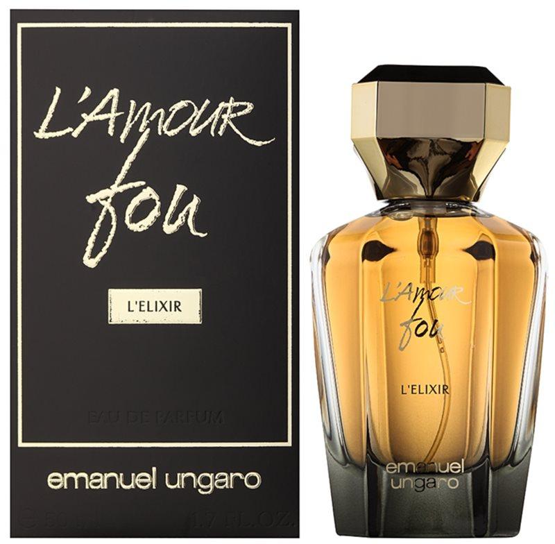 Emanuel Ungaro L'Amour Fou L'Elixir Eau de Parfum für Damen 50 ml