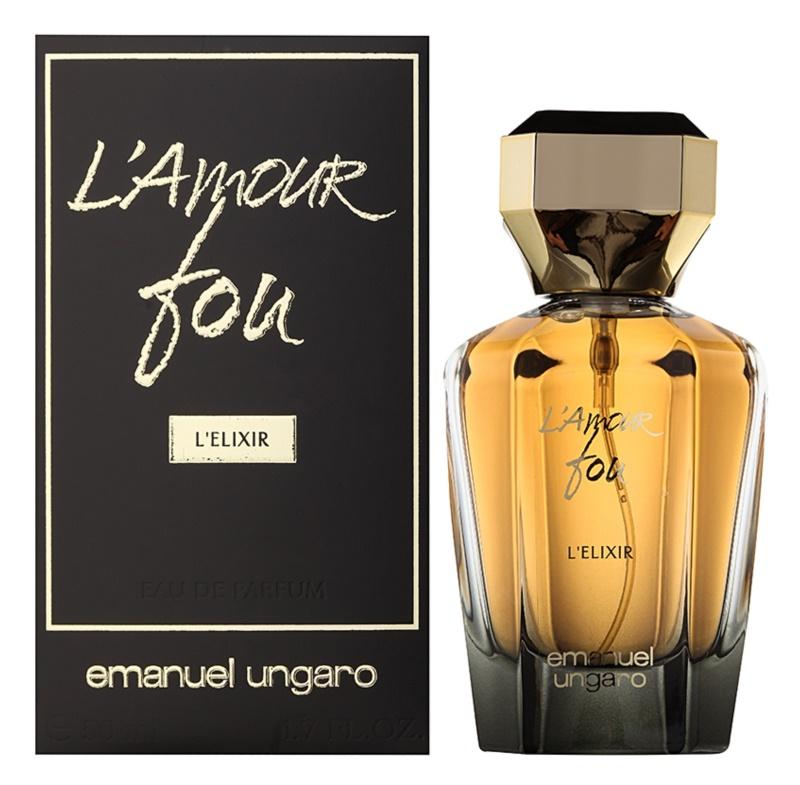 Emanuel Ungaro L'Amour Fou L'Elixir woda perfumowana dla kobiet 50 ml