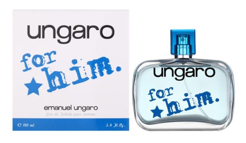 Emanuel Ungaro Ungaro for Him eau de toilette férfiaknak 100 ml