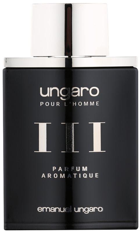 Emanuel Ungaro L'Homme III Parfum Aromatique Eau de Toilette para homens 100 ml