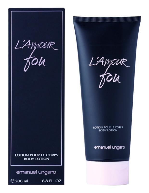 Emanuel Ungaro L'Amour Fou Body Lotion for Women 200 ml