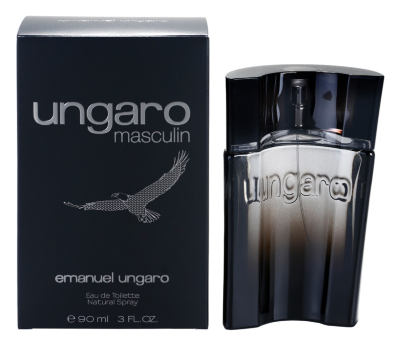 Emanuel Ungaro Ungaro Masculin Eau de Toilette for Men 90 ml