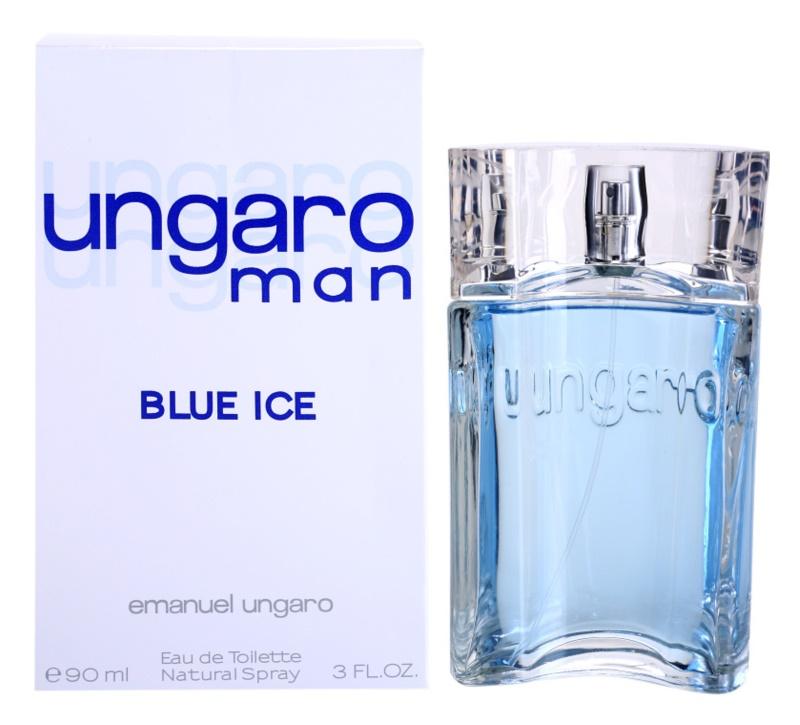Emanuel Ungaro Man Blue Ice toaletní voda pro muže 90 ml