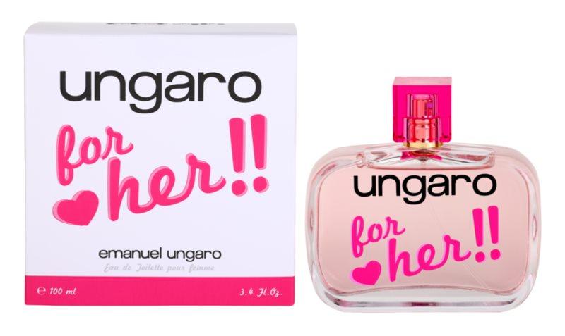 Emanuel Ungaro Ungaro for Her Eau de Toilette voor Vrouwen  100 ml