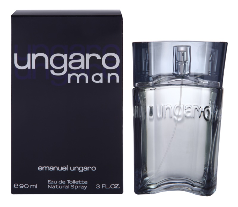 Emanuel Ungaro Ungaro Man Eau de Toilette for Men 90 ml