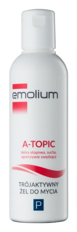 Emolium Wash & Bath P делікатний очищуючий гель з потрійним ефектом